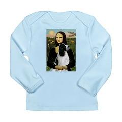 Mona Lisa/English Springer Long Sleeve Infant T-Sh