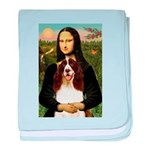 Mona/ English Springer baby blanket