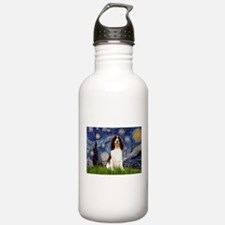 Starry Night / Eng Spring Water Bottle