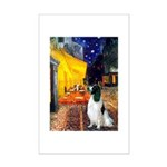 Cafe / Eng Springer Mini Poster Print
