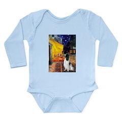Cafe / Eng Springer Long Sleeve Infant Bodysuit