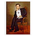 Lincoln / Eskimo Spitz #1 Small Poster