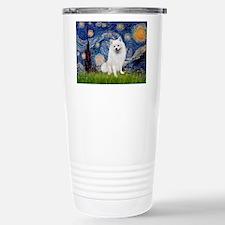 Starry / Eskimo Spitz #1 Travel Mug