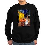 Cafe / Eskimo Spitz #1 Sweatshirt (dark)