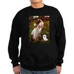 Windflowers / Eskimo Spitz #1 Sweatshirt (dark)