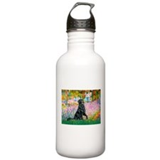Flat Coated Retriever 2 Water Bottle