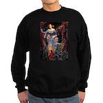 Flat Coated Retriever 1 Sweatshirt (dark)