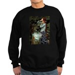 Ophelia / Flat Coated Retriev Sweatshirt (dark)
