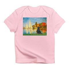 Sailboats / Flat Coated Retri Infant T-Shirt