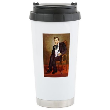 Lincoln / Smooth T (#1) Stainless Steel Travel Mug