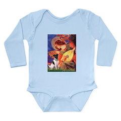 Mandolin / Smooth T (#1) Long Sleeve Infant Bodysu