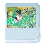 Irises / T (#1) baby blanket