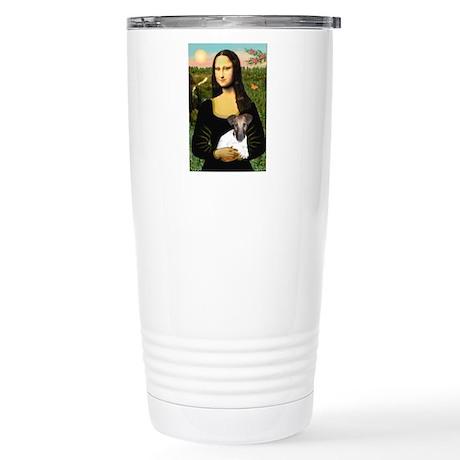 Mona & Fox Terrier Stainless Steel Travel Mug