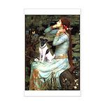 Ophelia / Fox T Mini Poster Print