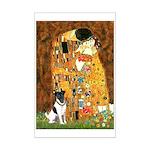 Kiss / Fox Terrier Mini Poster Print
