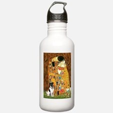 Kiss / Fox Terrier Water Bottle