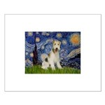 Starry / Fox Terrier (W) Small Poster