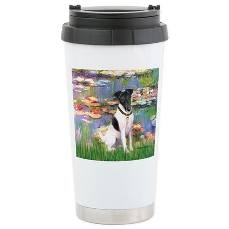 Lilies / Smooth T (#1) Stainless Steel Travel Mug