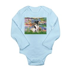 Lilies / Smooth T (#1) Long Sleeve Infant Bodysuit