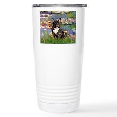 Lilies / FBD Stainless Steel Travel Mug
