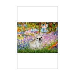 Garden / Fr Bulldog(f) Posters