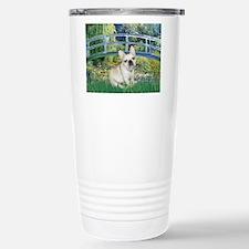 Bridge / Fr Bulldog (f) Stainless Steel Travel Mug