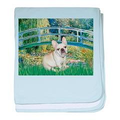 Bridge / Fr Bulldog (f) baby blanket
