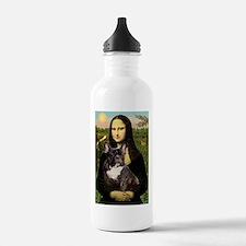 Mona / Fr Bulldog(brin) Water Bottle