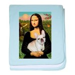 Mona / Fr Bulldog (f) baby blanket