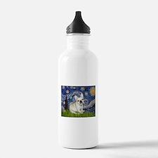 Starry / Fr Bulldog (f) Water Bottle