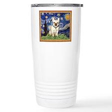 Starry/French Bulldog Travel Mug
