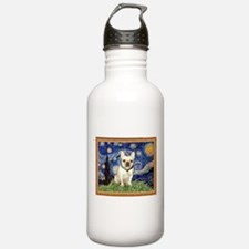 Starry/French Bulldog Water Bottle