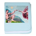 Creation / G-Shep baby blanket