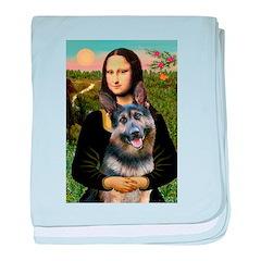 Mona's G-Shepherd baby blanket
