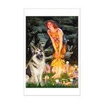 Fairies / G-Shep Mini Poster Print