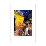 Cafe / G Shepherd Mini Poster Print