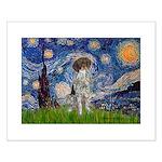 Starry Night /German Short Small Poster