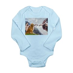 Golden Creation Long Sleeve Infant Bodysuit