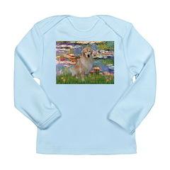 Lilies & Golden Long Sleeve Infant T-Shirt