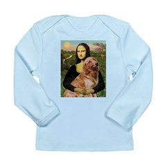 Mona's Golden Retriever Long Sleeve Infant T-Shirt