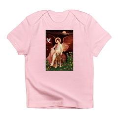 Angel & Golden Retrieve Infant T-Shirt
