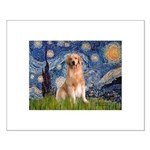Starry Night / Golden Small Poster