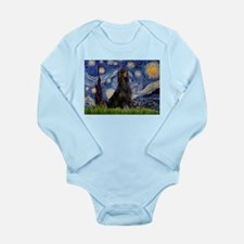 Starry Night & Gordon Long Sleeve Infant Bodysuit