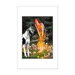 Fairies / Gr Dane (h) Mini Poster Print