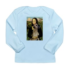 Mona / Great Dane Long Sleeve Infant T-Shirt