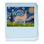 Starry / Gr Dane (f) baby blanket