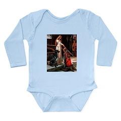 Accolade / Gr Dane (bl) Long Sleeve Infant Bodysui