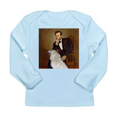 Lincoln / Great Pyrenees Long Sleeve Infant T-Shir