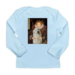 Queen / Gr Pyrenees #3 Long Sleeve Infant T-Shirt