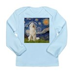 Starry Night / Pyrenees Long Sleeve Infant T-Shirt